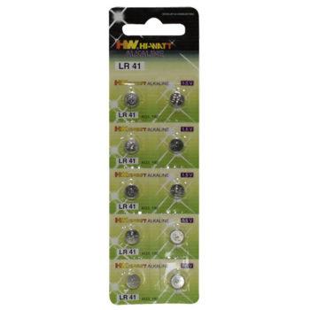Knopfzellbatterien 10er Blister LR41