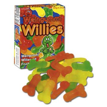 Jelly Willies Fruchtgummies in Penisform 150 g