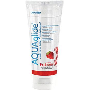 AQUAglide Erdbeer-Gleitmittel - 100 ml