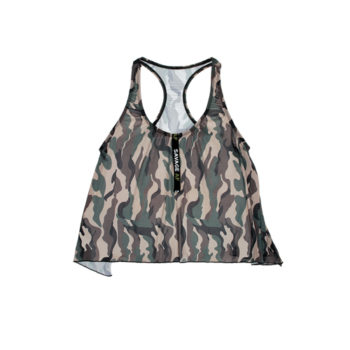 Camouflage Racerback Top