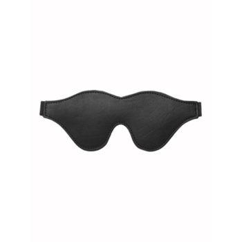 Strict Leather Augenbinde mit schwarzem Fleecefutter